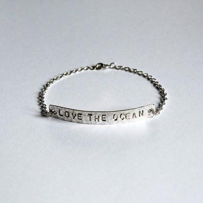 bracelet love the ocean