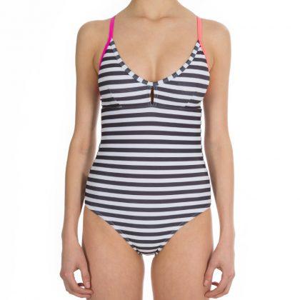 seaside suit stripe front